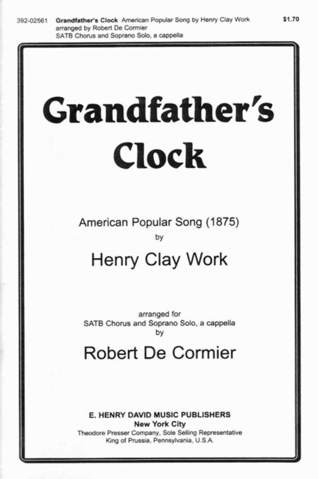 Grandfather's Clock SATB