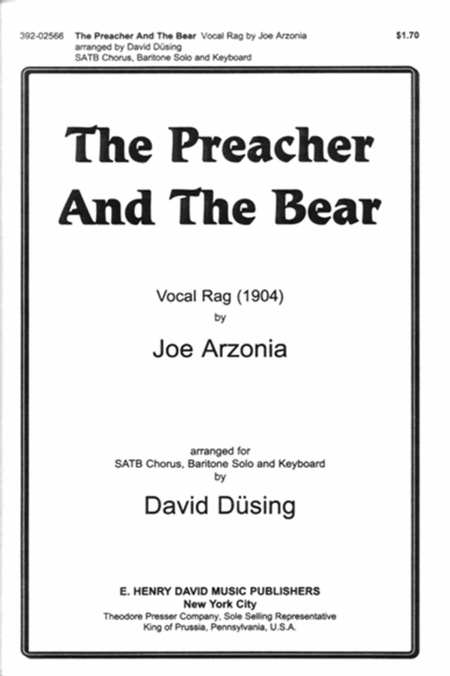 Preacher and the Bear