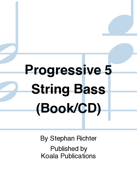 Progressive 5 String Bass (Book/CD)