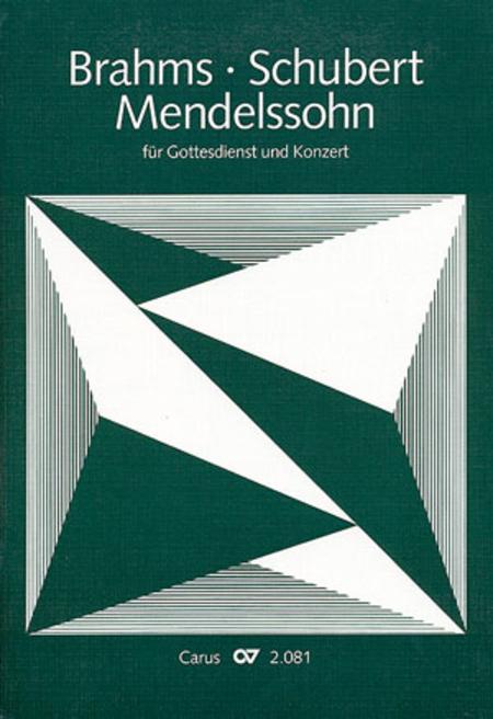 Chorbuch Brahms, Mendelssohn, Schubert