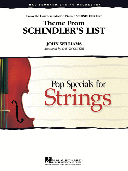 Schindler's List, Theme from