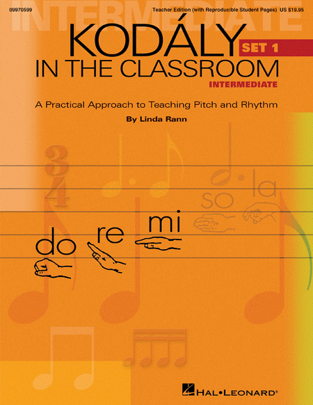 Kodaly in the Classroom - Intermediate (Set I)