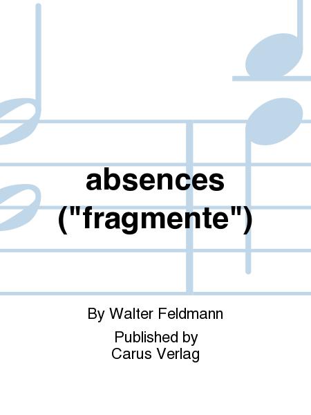 absences (