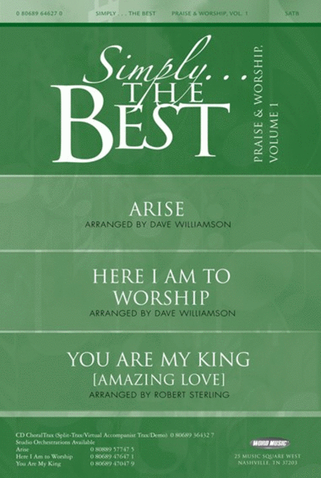 Simply The Best: Praise & Worship Volume 1