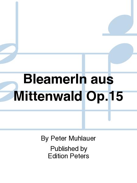Bleamer ln aus Mittenwald Op. 15