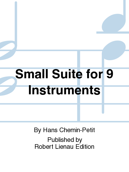 Small Suite for 9 Instruments