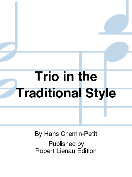 Trio in the Traditional Style