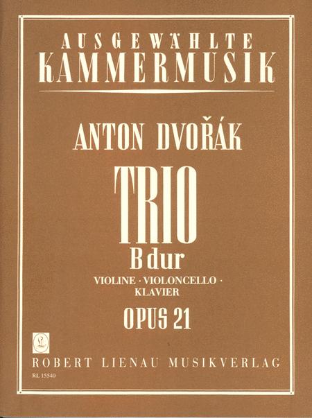Trio B flat Major Op. 21