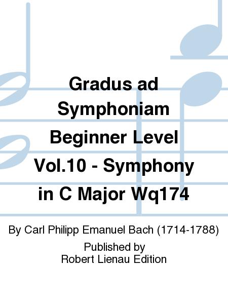 Gradus ad Symphoniam Beginner Level Vol.10 - Symphony in C Major Wq174