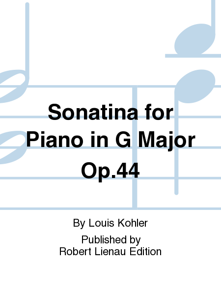Sonatina for Piano in G Major Op. 44