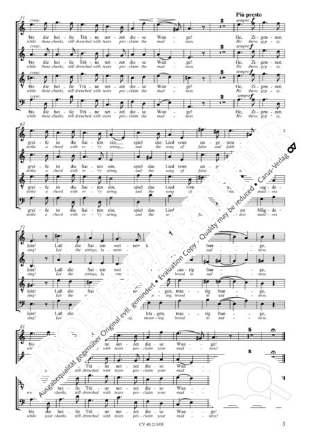 Zigeunerlieder op. 103