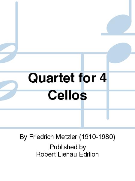 Quartet for 4 Cellos