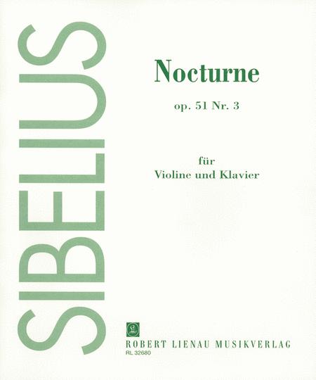 Nocturne Op. 51, No. 3