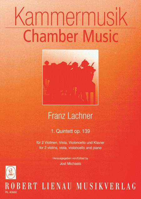 Piano Quintet No. 1 in C Minor Op. 139