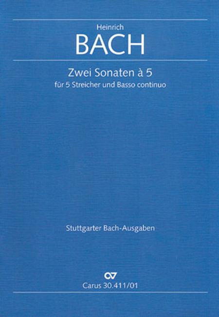 Zwei Sonaten a 5