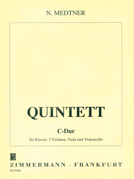 Piano Quintet in C Major Op. posth.