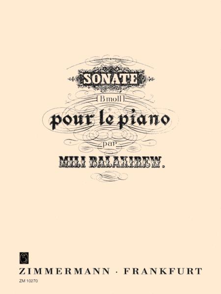 Piano Sonata in Bb Minor