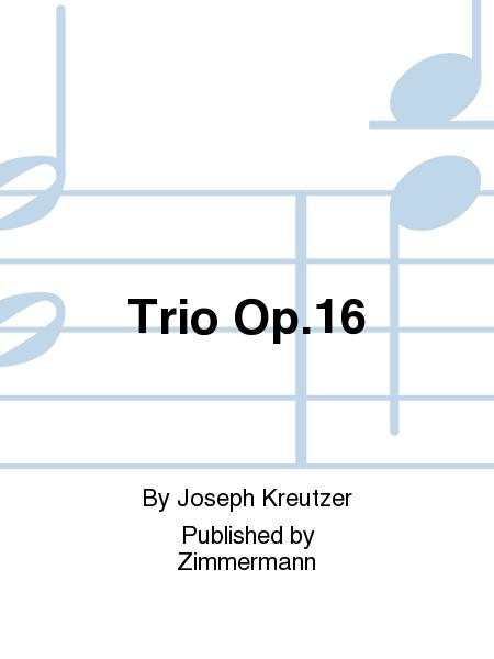 Trio Op. 16