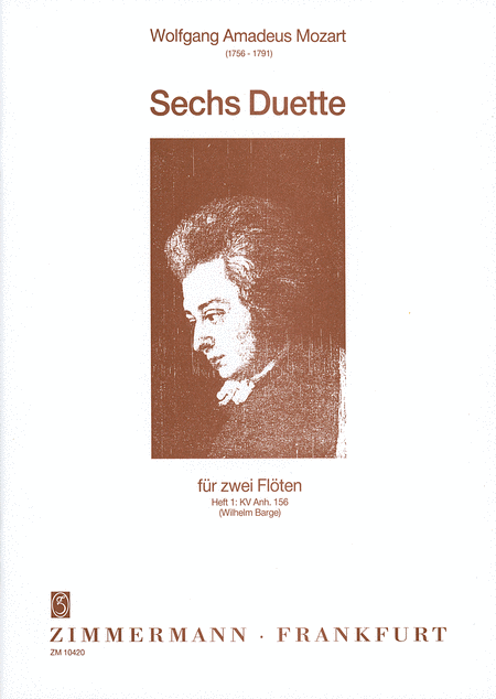Six Duets for Two Flutes, Vol. 1