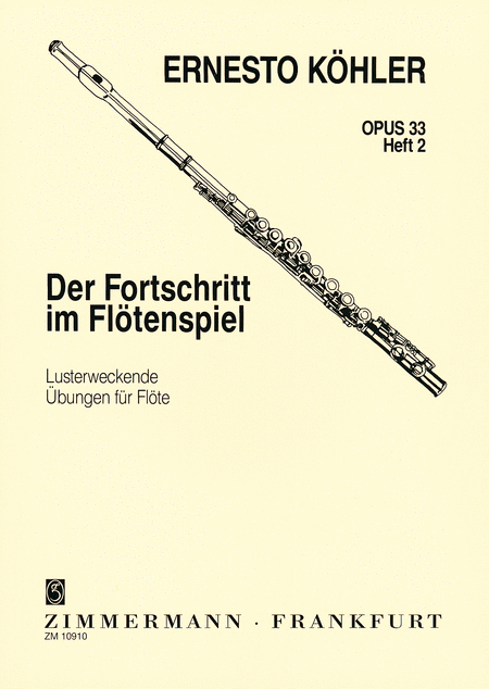 The Flutist's Progress, Op.33 - Vol. 2