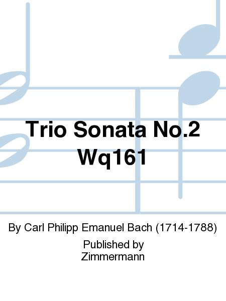 Trio Sonata No. 2 Wq161
