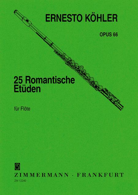25 Romantic Etudes Op. 66