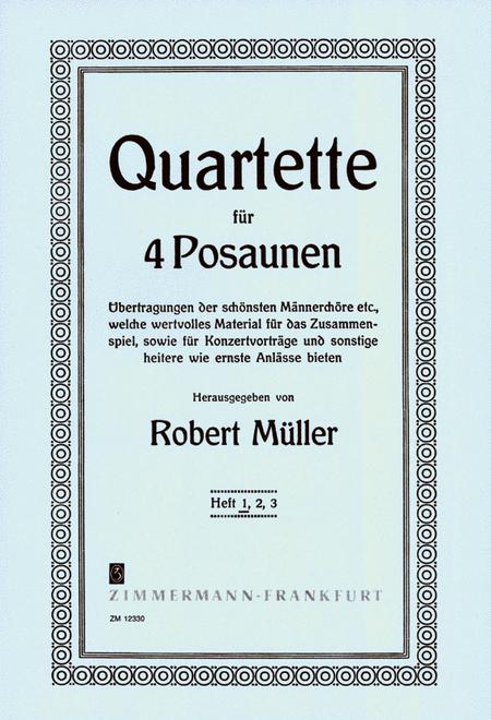 Quartets for 4 Trombones Vol. 1
