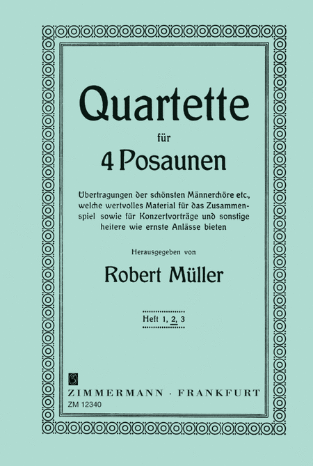 Quartets for Trombones Vol. 2