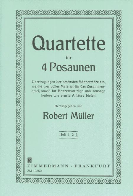 Quartets for Trombones Vol. 3