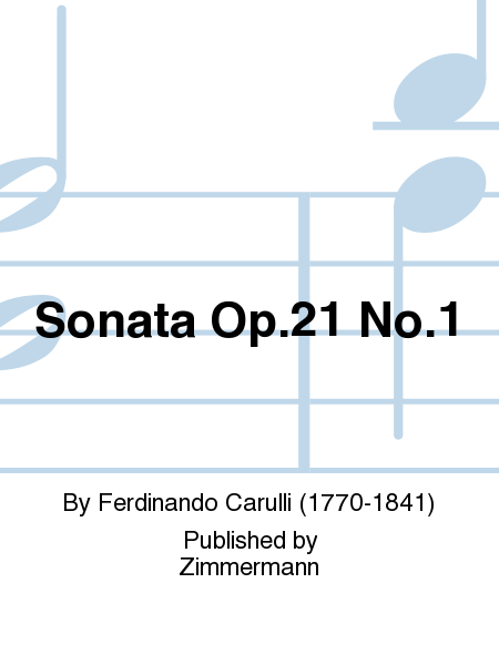 Sonata Op. 21 No. 1