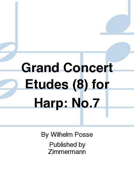 Grand Concert Etudes (8) for Harp: No.7