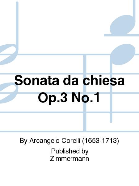 Sonata da chiesa Op. 3 No. 1