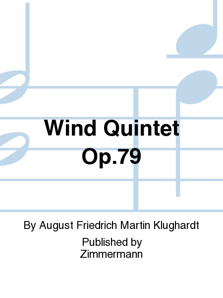Wind Quintet Op.79