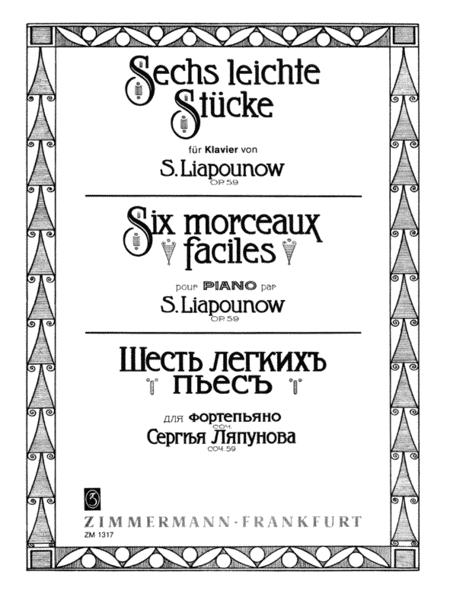 Easy Pieces (6) Op. 59