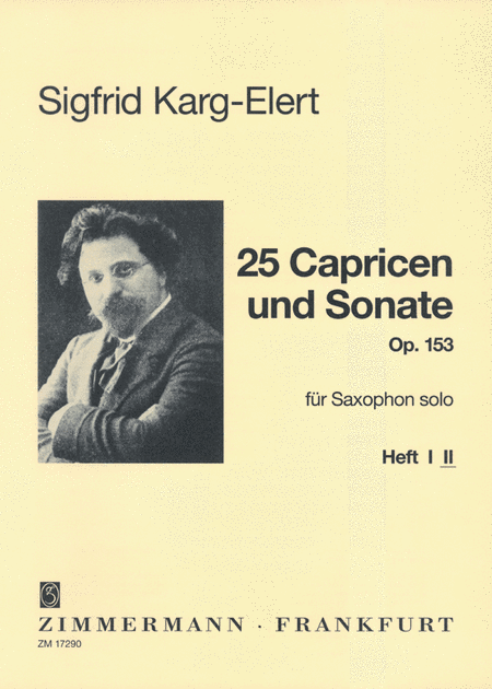 25 Caprices and 1 Sonata Op.153 Vol.2