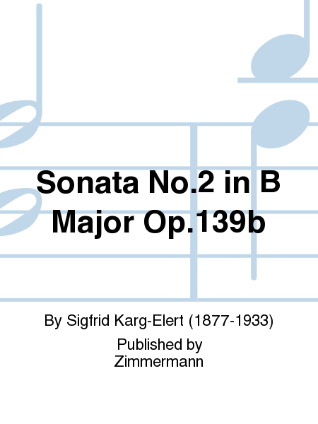 Sonata No. 2 in B Major Op. 139b for Viola and Piano