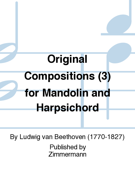 Original Compositions (3) for Mandolin and Harpsichord