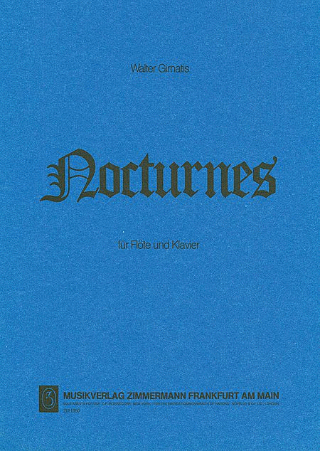 Nocturnes for Flute and Piano