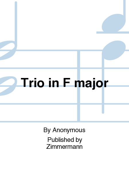 Trio in F major