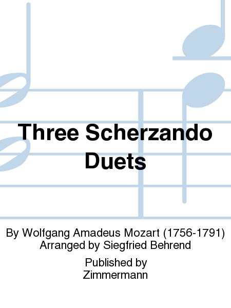 Three Scherzando Duets