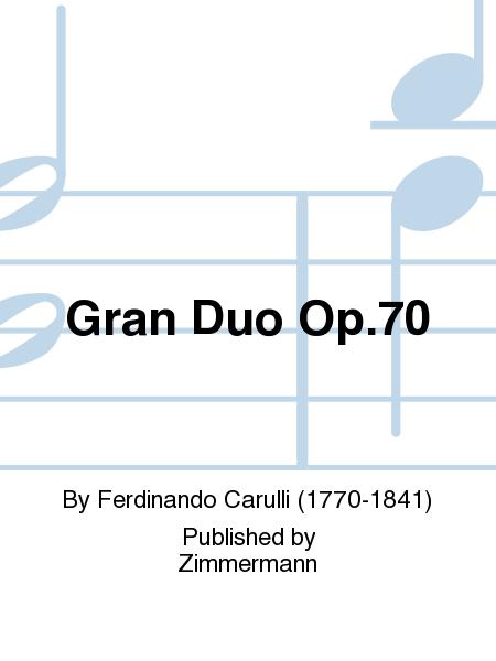 Gran Duo Op. 70
