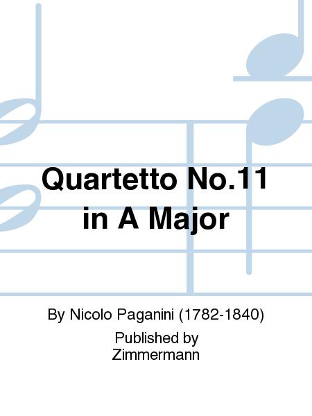 Quartetto No. 11 in A Major