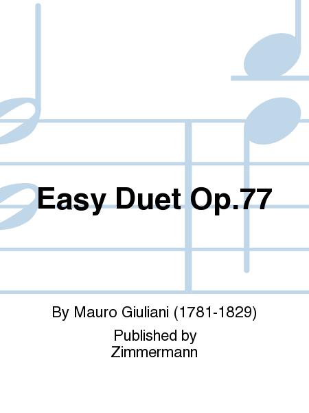 Easy Duet Op. 77