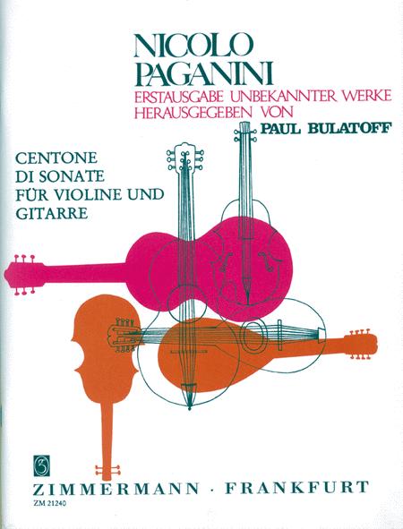 Centone di Sonate Nos. 7-12