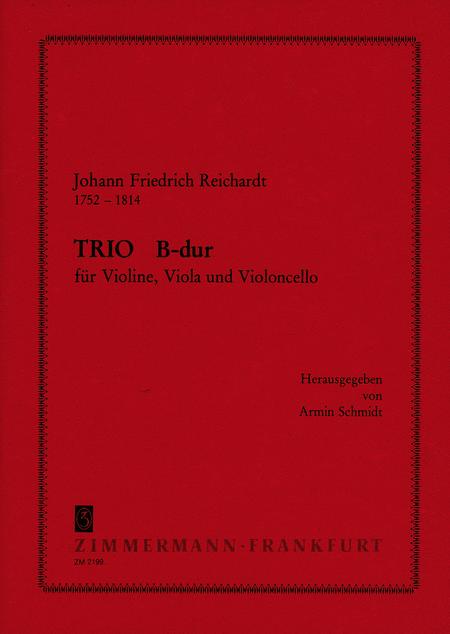 String Trio in Bb Major