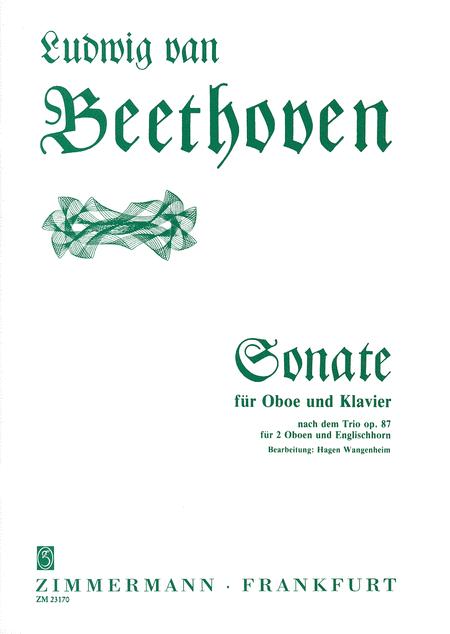 Sonata based on Op. 87