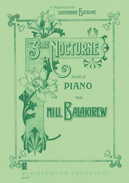 Nocturne No. 3 for Piano