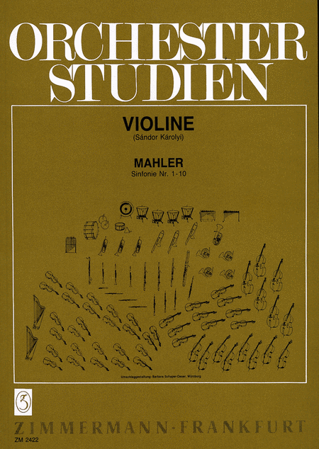 Orchestral Studies for Violin