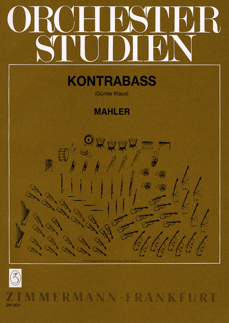 Orchestral Studies for Doublebass