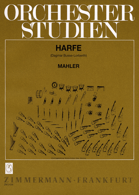 Orchestral Studies for Harp